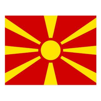 Mazedonien Postkarte