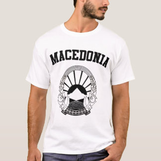 Mazedonien-Wappen T-Shirt