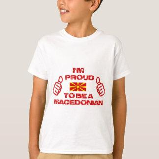 Mazedonischer Entwurf T-Shirt
