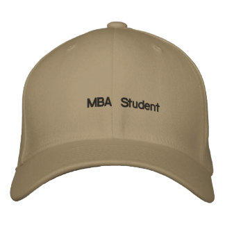 MBA-Student Bestickte Baseballkappe