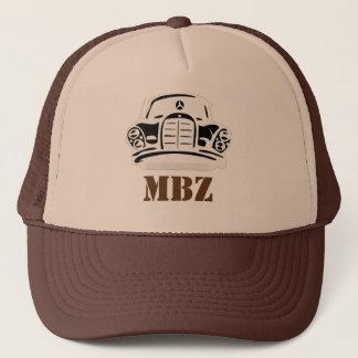 MBZ Hut-Brown-Schablone Truckerkappe