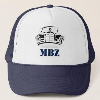 MBZ Hut-Marine-Schablone 2 Truckerkappe