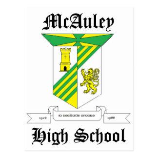 McAuley Highschool Postkarte