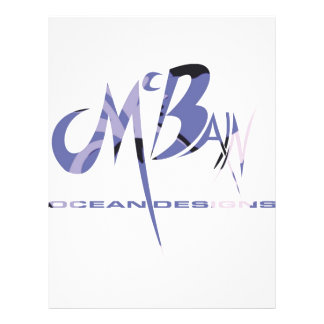 McBain Ozean-Entwürfe Vollfarbige Flyer