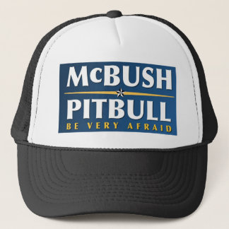 McBush u. Pitbull Hut Truckerkappe
