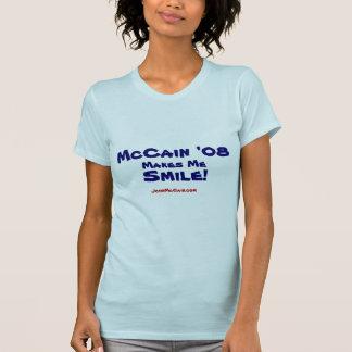 McCain '08 Lächeln-Damen-T-Shirt T-Shirt