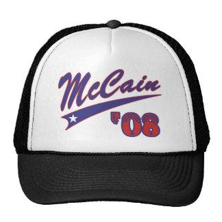 McCain 08 Swoosh Baseballkappen