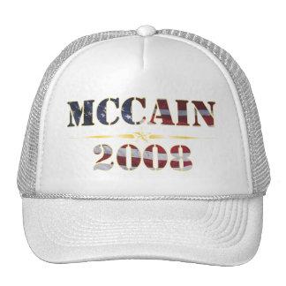 McCain 2008 Flaggen-Hut Baseball Cap