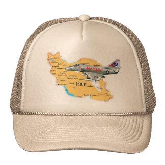 McCain A-4 über der Iran-Hut Retrokult Cap