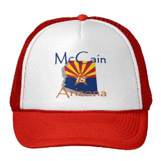McCain Hut 2010 Retrokappen