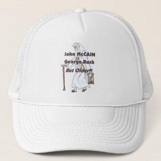 McCain ist Bush aber älterer Hut Truckerkappe