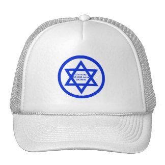 McCain jüdischer Stern-Hut Retro Cap