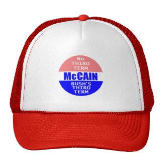 McCAIN KEIN DRITTER AUSDRUCK Hut Trucker Caps
