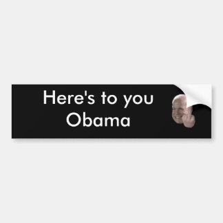 mccain-middle-finger-01, ist hier zu Ihnen Obama Autoaufkleber