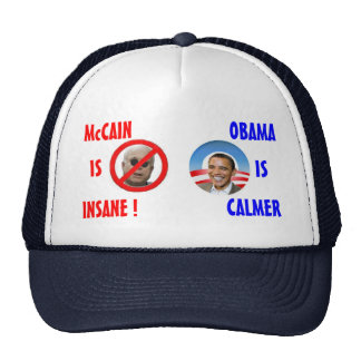McCain/OBama-Hut Caps