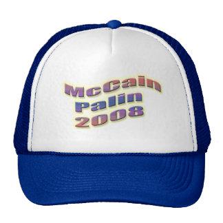 mccain palin 2008 retrokultmütze