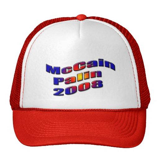 mccain palin 2008 netzmütze