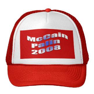 mccain palin 2008 baseballmützen