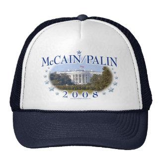 McCain Palin das Weiße Haus 2008 Baseball Cap
