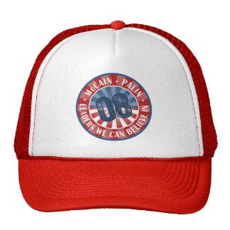 McCain Palin Führer, die wir herein glauben können Baseball Cap