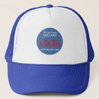 McCain Palin HILLARY Hut Truckerkappe