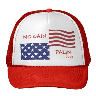 McCain - Palin Wahl-Hut Truckermütze