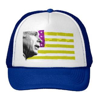 McCain Pop-Kunst-Flaggen-Hut Trucker Caps