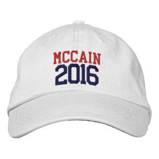 McCain Präsident 2016 Besticktes Baseballcap