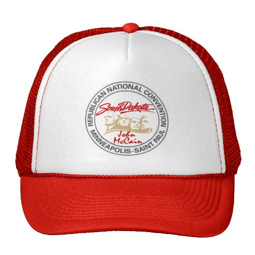 McCain South Dakota RNC Hut Baseball Cap