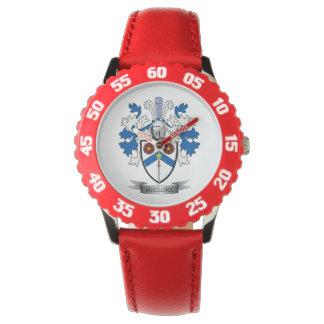 McClure Familienwappen-Wappen Uhr