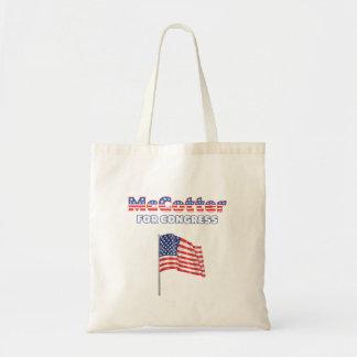 McCotter für Kongress-patriotische amerikanische F Leinentaschen