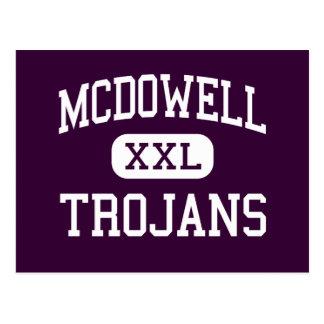 McDowell - Trojan - hoch - Erie Pennsylvania Postkarte
