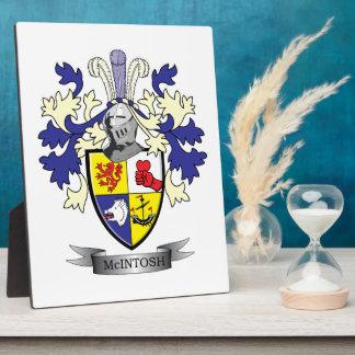 McIntosh Familienwappen-Wappen Fotoplatte