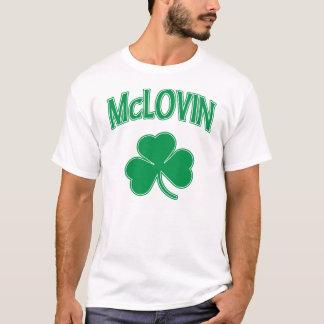 McLovin irisches Kleeblatt-T-Shirt T-Shirt