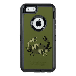 Md-Camouflage-Krabben-Fall OtterBox iPhone 6/6s Hülle