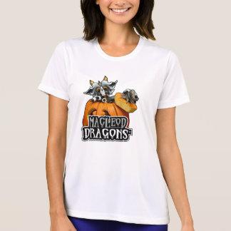 Md-Kürbis-Drache Sport-Tek Konkurrent T, weiß T-Shirt