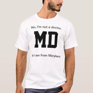 MD von Maryland T-Shirt