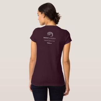 MdDS Bewusstsein Bella+Leinwand-Jersey V-Hals T - T-Shirt