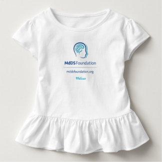 MdDS Bewusstseins-Kleinkind-Rüsche-T-Shirt Kleinkind T-shirt