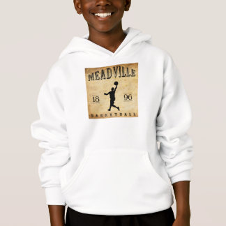 Meadville Pennsylvania Basketball 1896 Hoodie