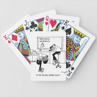 Mechaniker-Cartoon 5940 Bicycle Spielkarten