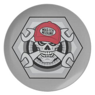 Mechaniker Skull-01 Teller