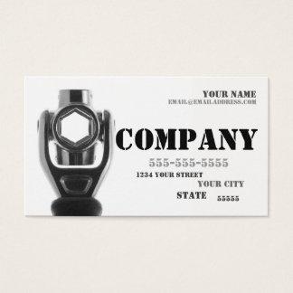 Mechaniker-u. Visitenkarte