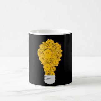 Mechanische Lampe Kaffeetasse