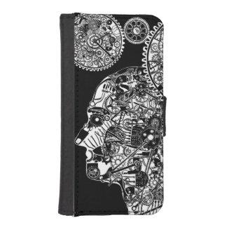 Mechanischer Mann Geldbeutel Hülle Für Das iPhone SE/5/5s