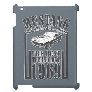 Mechanischer Power des Mustangs iPad Hüllen