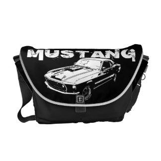 Mechanischer Power des Mustangs Kuriertasche