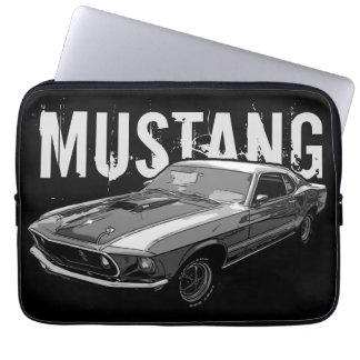 Mechanischer Power des Mustangs Laptop Sleeve