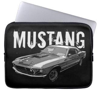 Mechanischer Power des Mustangs Laptopschutzhülle