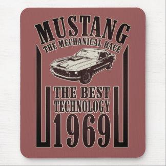 Mechanischer Power des Mustangs Mousepad